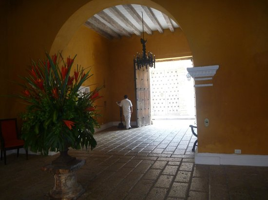 Casa Pestagua Hotel Boutique, Spa : Entrance hallway