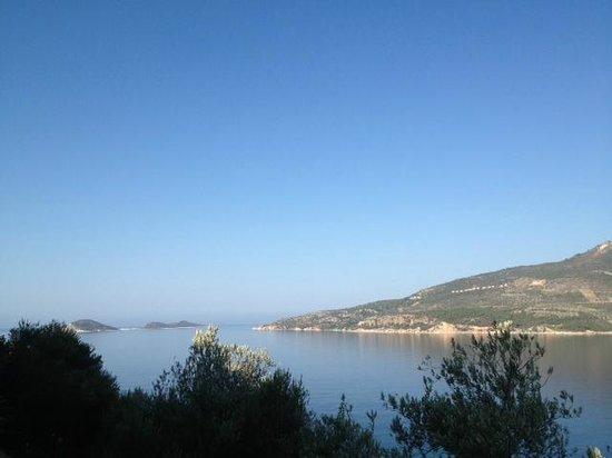 Happy Hotel Kalkan: View of Kalamar Bay