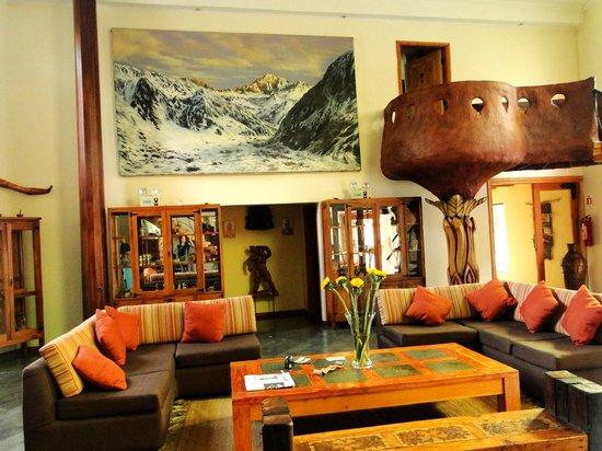 Hotel Qamaqi : lobby do hotel