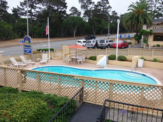 Best Western Park Crest Inn: View from room 172