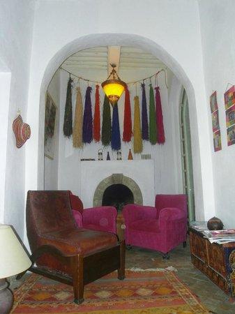 Dar Dayana : Kleine gemütliche Lounge