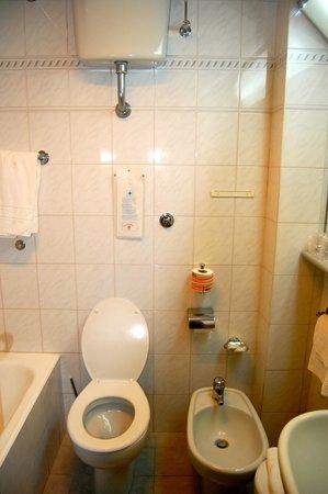 Carlton International Hotel: bathroom