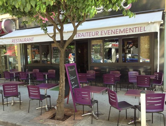 La terrasse du Café Gecko