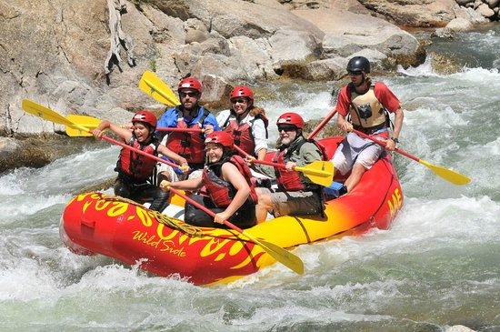 Rafting Browns Canyon Area Of Arkansas River Picture Of