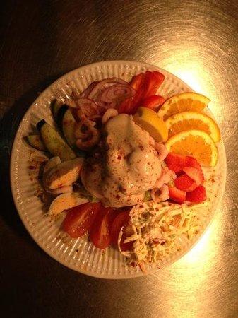 Blackhorse Hotel: prawn salad
