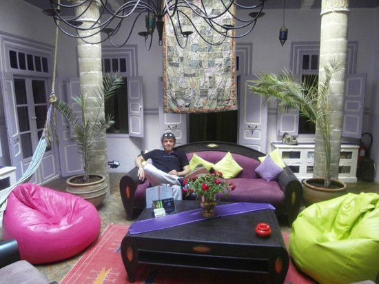Riad Casa Lila: Innenhof/Lounge
