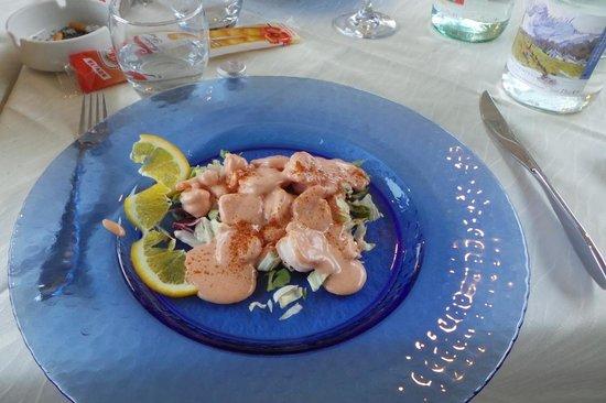 Hotel Ristorante Lago Maggiore: gamberetti