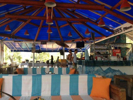 The Sugar Beach Club: Restaurant Bar