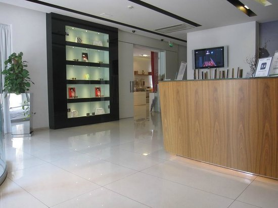 Hotel Card International : The reception