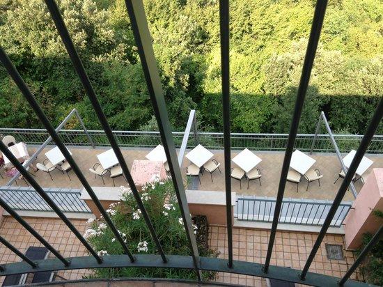Panorama Residence Hotel: Udendørs restaurant