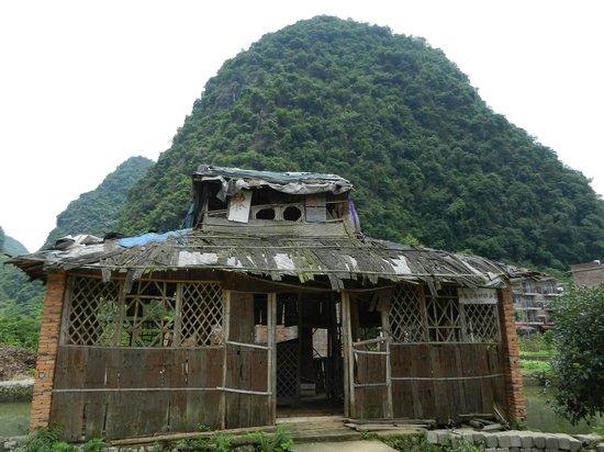 Jiuxian Ancient Village: Ancienne maison