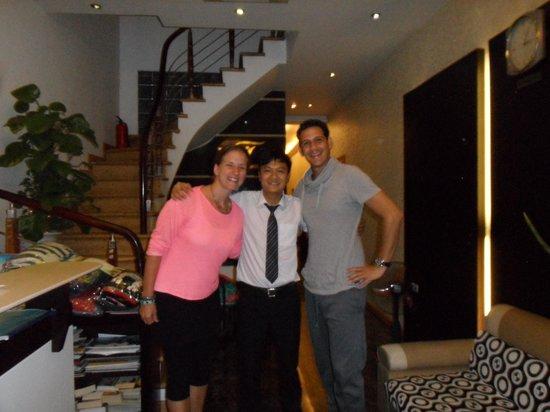 Tu Linh Palace Hotel: Met Tim!
