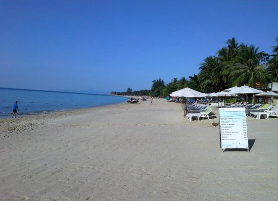 Utopia Resort: Beach view