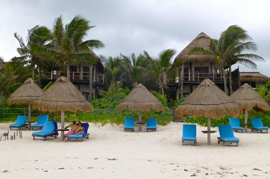 Encantada Tulum: View from the beach