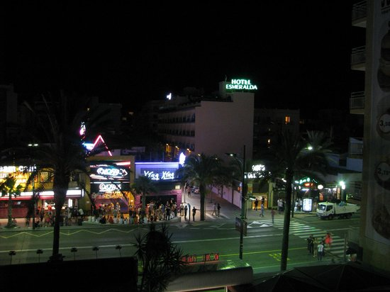 Gran Hotel Flamingo: Вид из номера