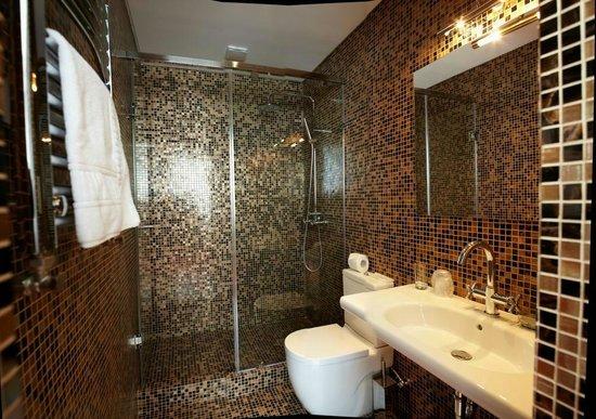 Dona Hotel : ванная комната в стандарте
