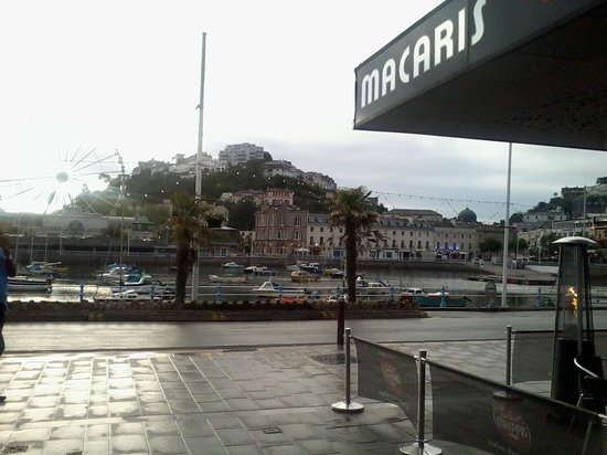 Macaris Italian restaurant: another great view