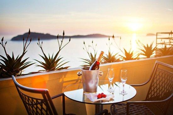 Hotel Croatia Cavtat: Suite Terrace