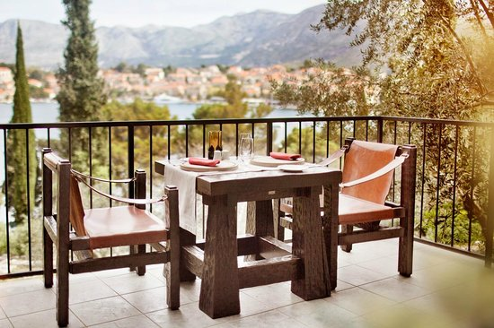Hotel Croatia Cavtat: Steakhouse Terrace