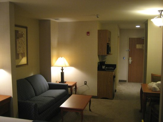 Holiday Inn Express Victor: Photos of ours suite