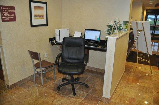 Sleep Inn & Suites Dyersburg : Business Work Station