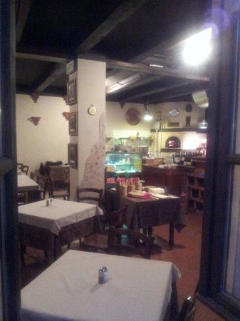 Antica Corte: Inside view from outside