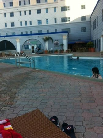 Westgate Palace Resort: where's the sun?!!