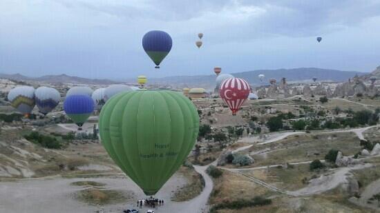Canela Cave Hotel: balonlar