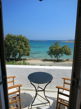 Roussos Beach Hotel: Dal balcone
