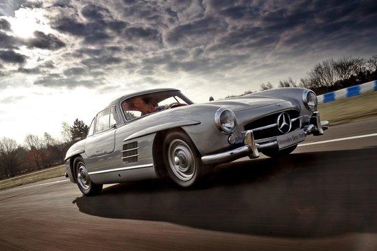 Mercedes benz world under 16 kids driving experience for Mercedes benz surrey uk