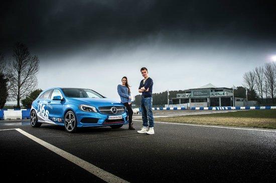 Mercedes benz world under 16 kids driving experience for Mercedes benz driving experience