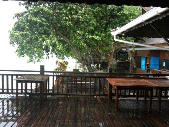 The Reef Dive Resort: утром в день отъезда был ливень