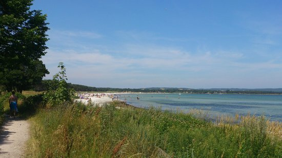 Hotel Balka Strand: Balka Strand seen from Snogebaek which is very close by