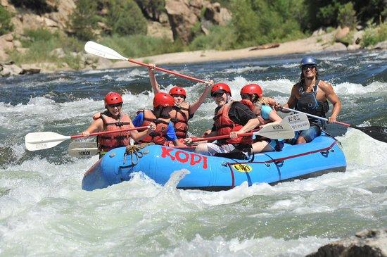 KODI Rafting in Colorado: Brown's Canyon - Kodi