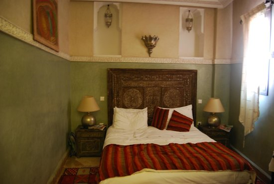 Riad Al Rimal: nuestra habitación
