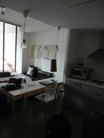 Aramunt Apartments: Vista do apartamento