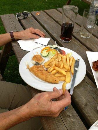 The Greyhound: Fish & Chips