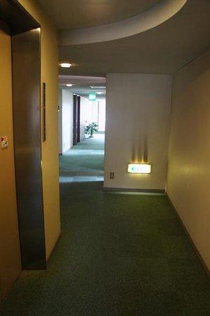 Uwajima Terninal Hotel: 廊下