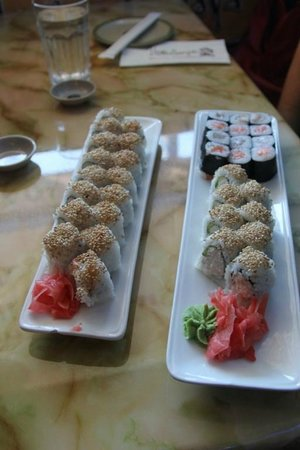 Kadoya Japanese Restaurant : Our two lunch servings