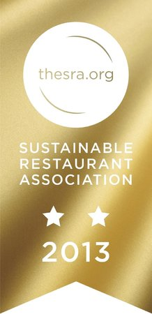 Boston Tea Party Ringwood: We hold a 2 star Sustainable Restaurant Association award