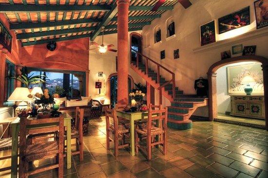 Sayulita Central Hotel Breakfast Area Desayunos