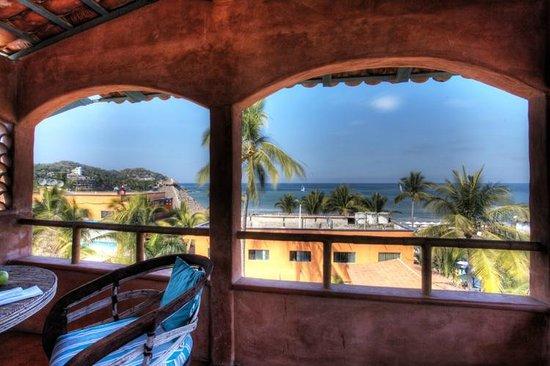 Sayulita Central Hotel Rooms With Ocean View Habitaciones Con Vista Al Mar