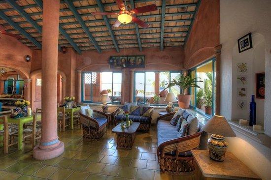 Sayulita Central Hotel Relaxing Area De Descanso