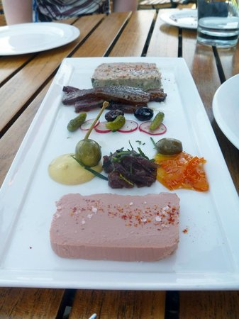 King Estate Winery: For Starters - Foi Gras with Mini Pickles & Bacon