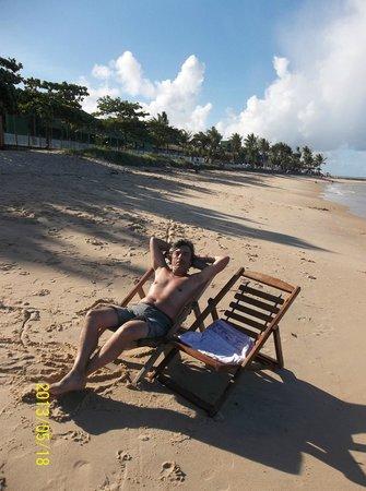 Apaga-Fogo Beach: Descansando en el Parador de Posada Aquarela