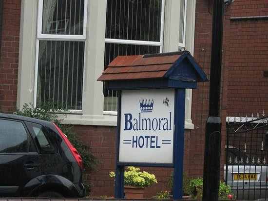 Balmoral Hotel: Na zewnątrz