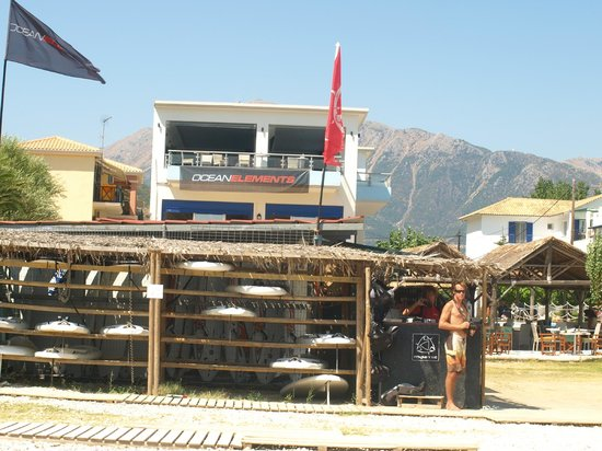 The Surf Hotel : Great kit, right on the beach