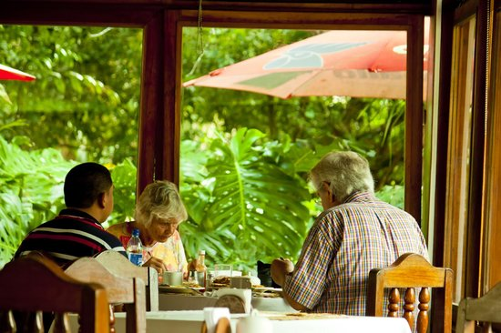 Jaguar Inn Restaurant: En el desayuno!!!