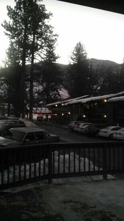 Big Pines Mountain House of Tahoe: View from our room, January, 2013