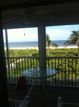 Sanibel Arms West Condominium : View from our unit